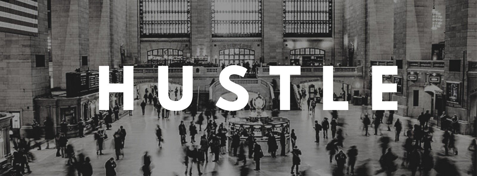 Hustle Facebook Cover