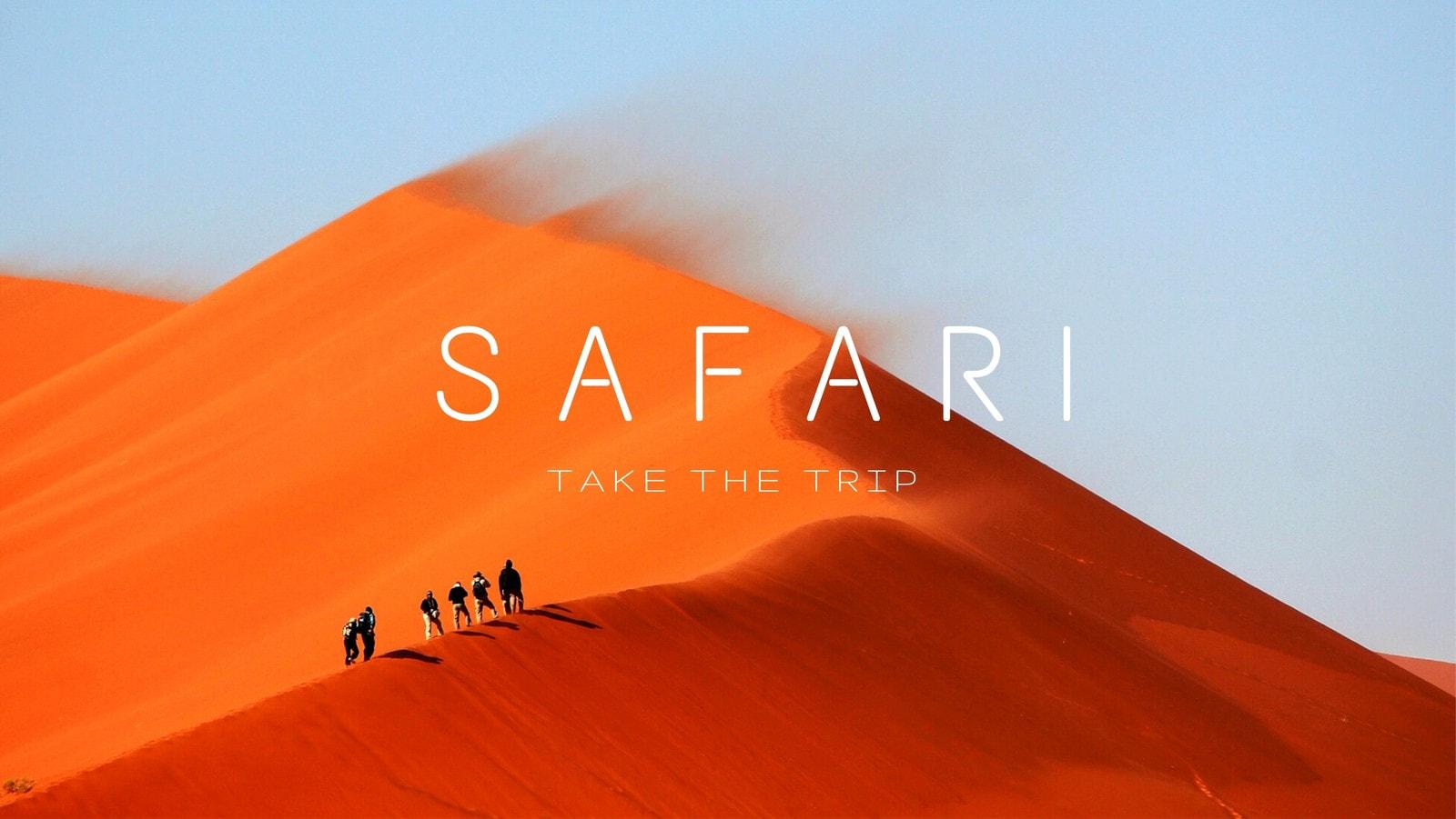 Desert Safari Facebook Cover