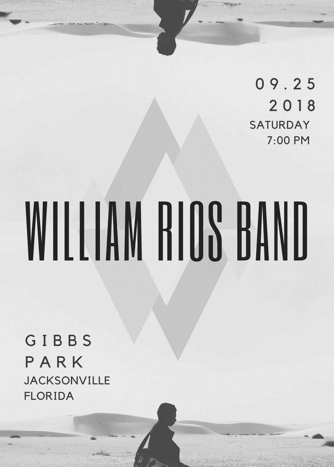 Gray Band Flyer