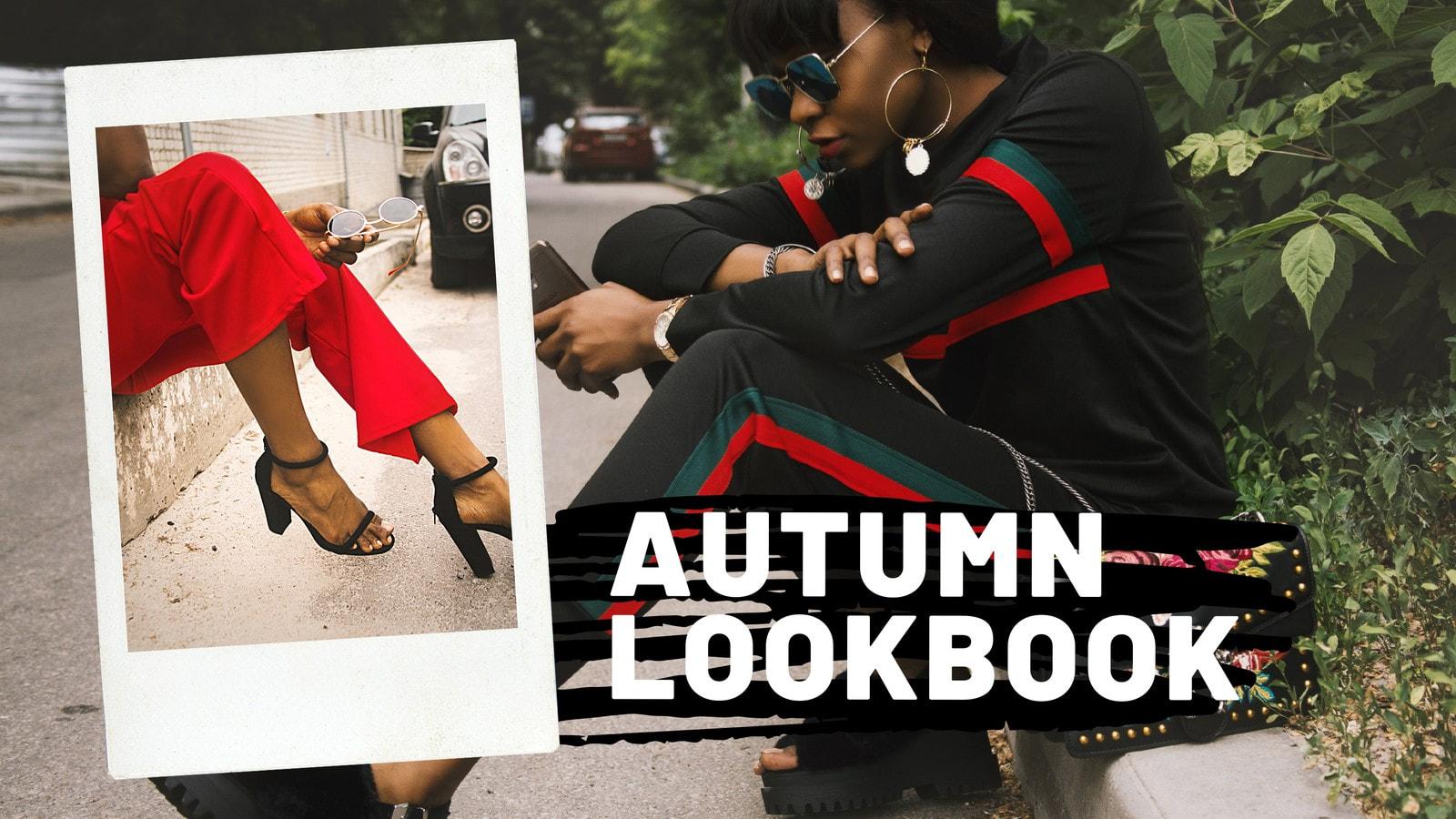Beige Simple Photo Fashion YouTube Thumbnail