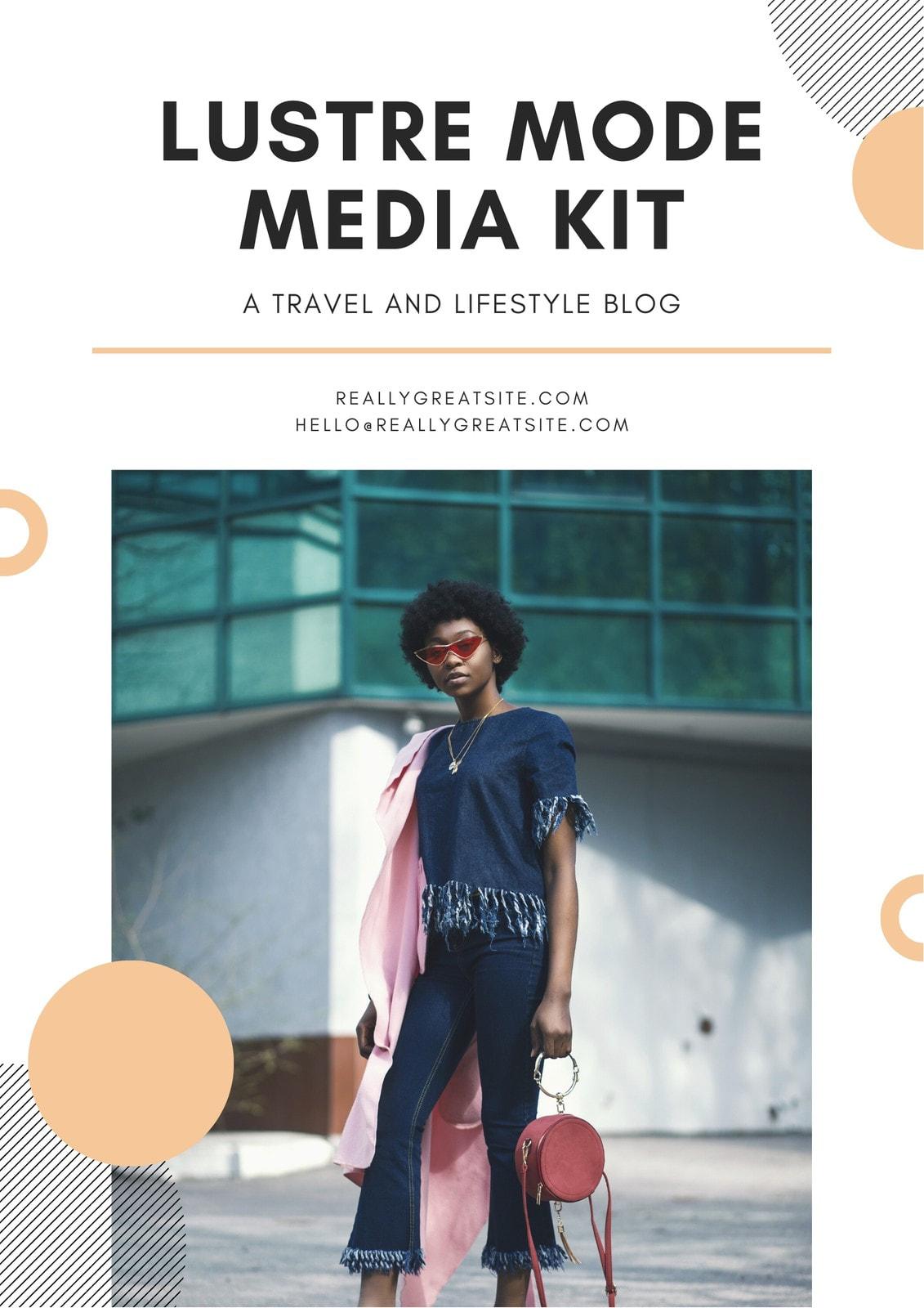 Khaki Fashion Press Media Kit