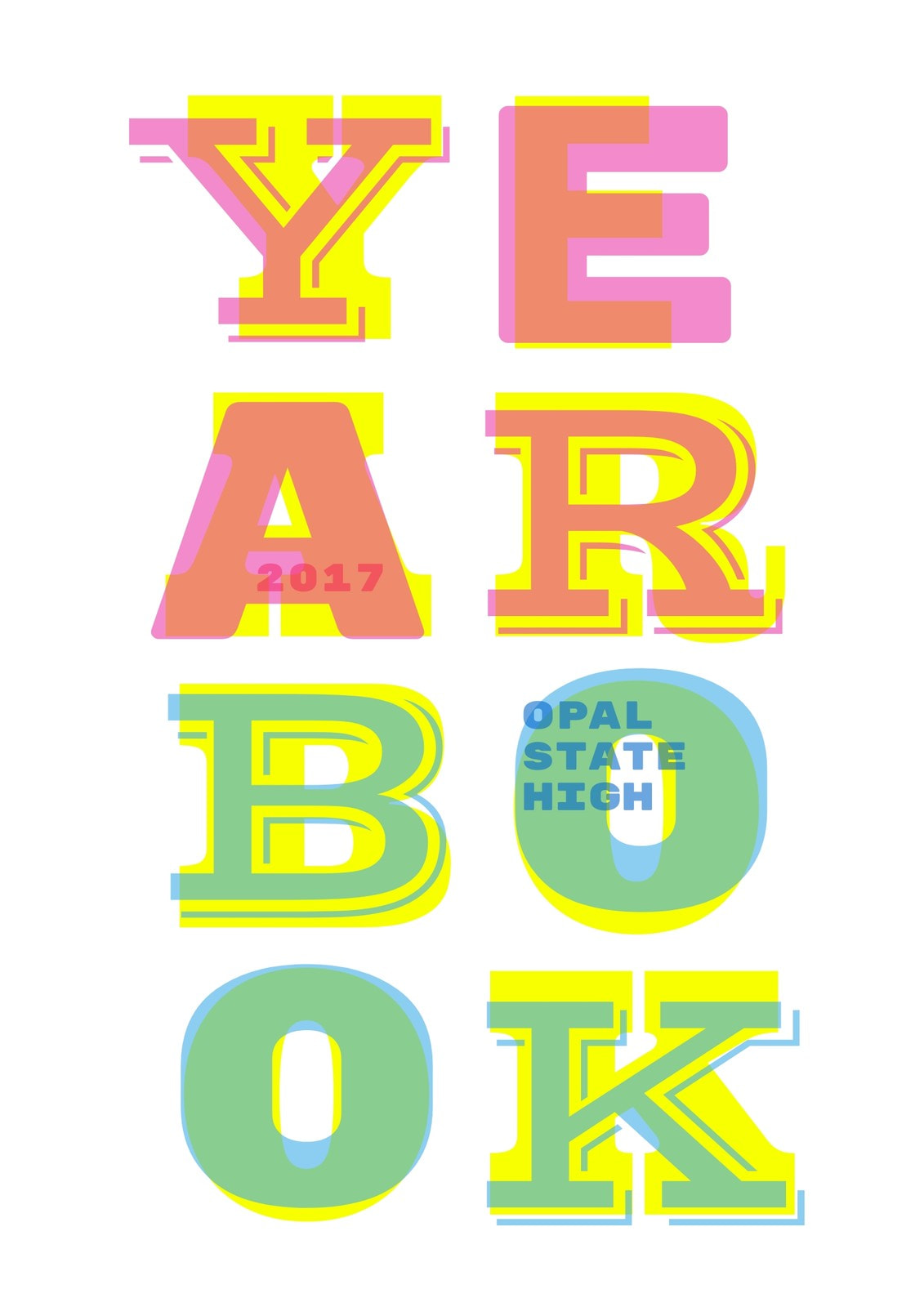 Overlay Yearbook Cover
