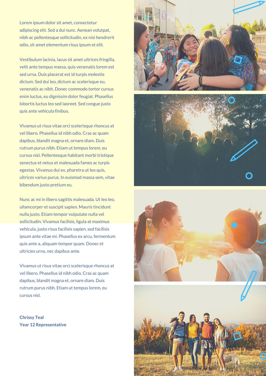 Yellow Pacifica Article Yearbook