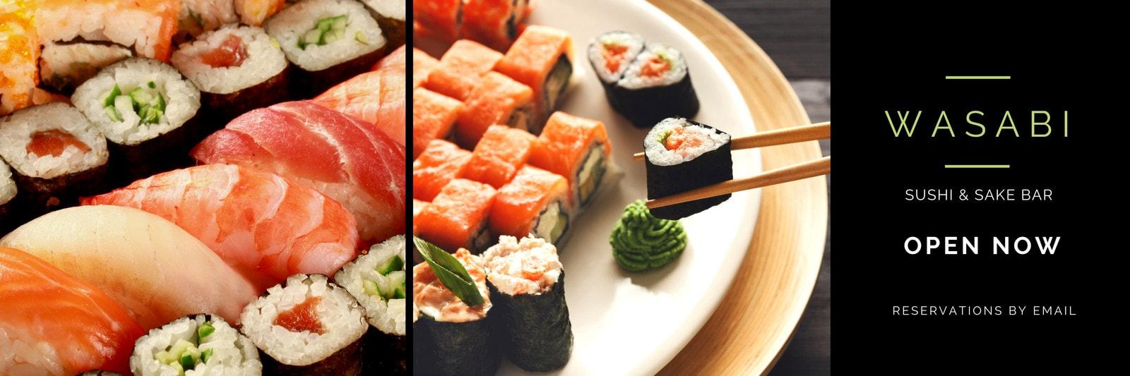 Japanese Food Sushi Bar Twitter Header