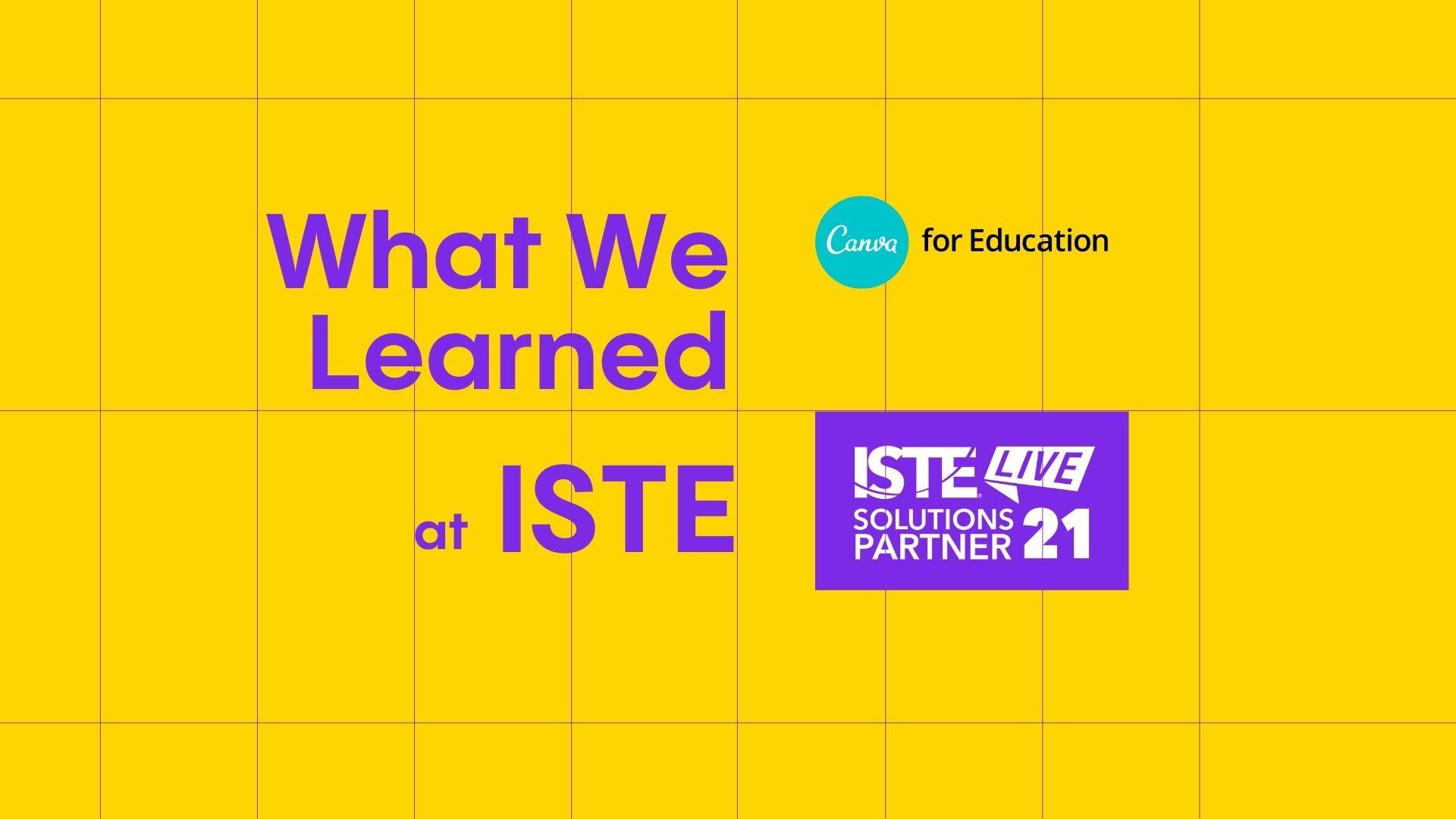 ISTE Header Image