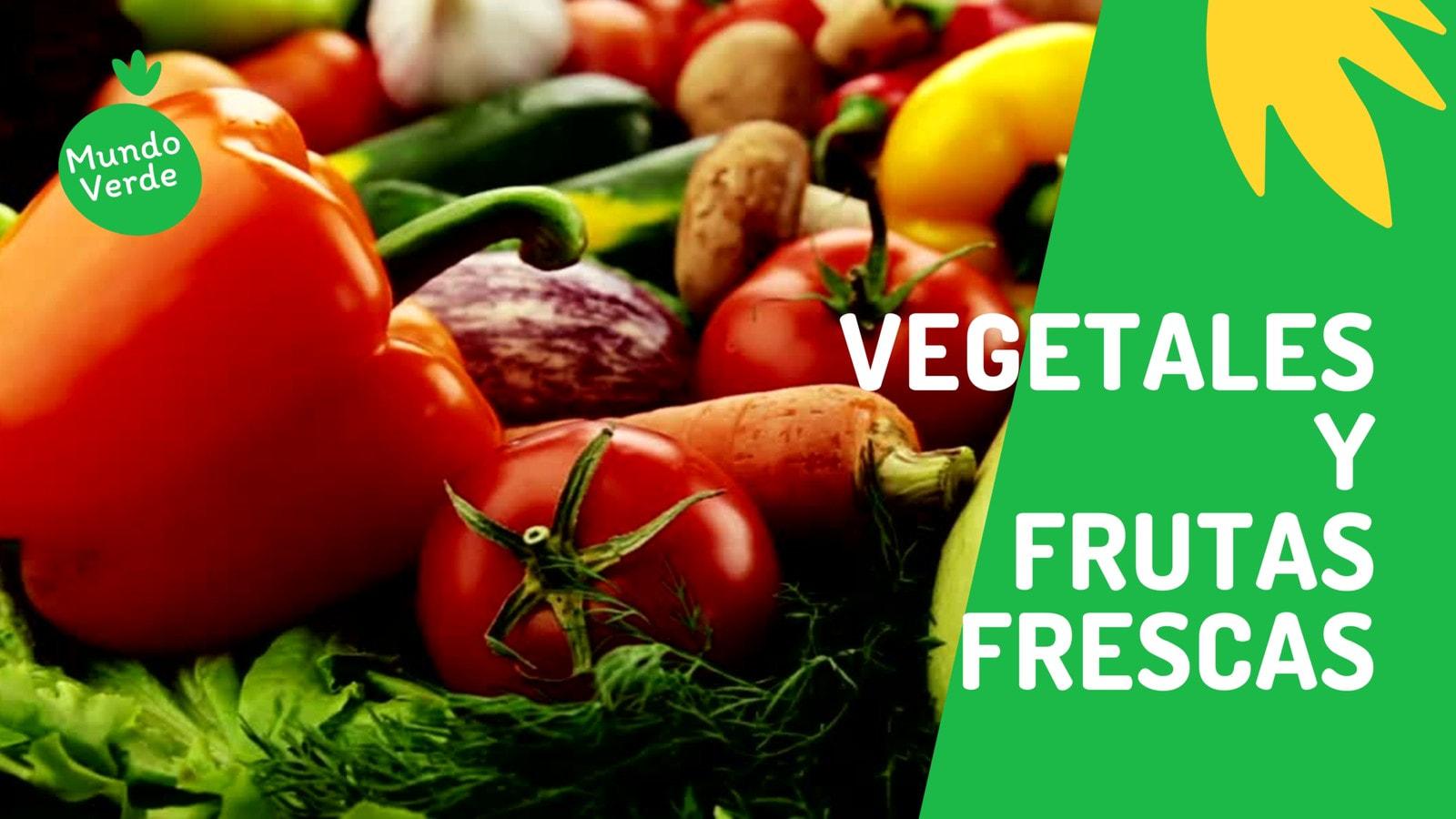 Verde Vivo y Amarillo Vegetales y Frutas Negocio de Comida/Restaurante Video de 16:9