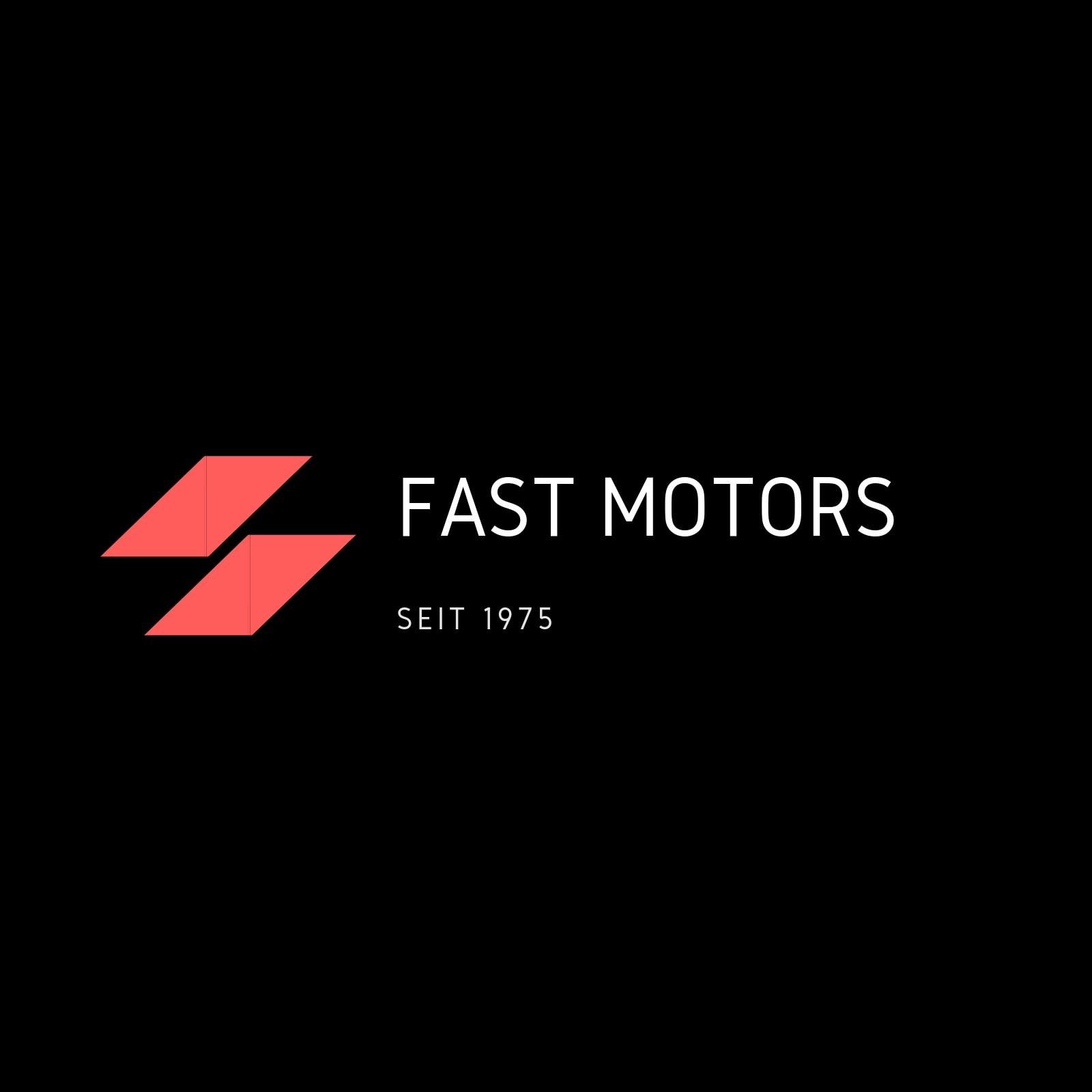 Schwarz Einfach Motoren Auto Logo