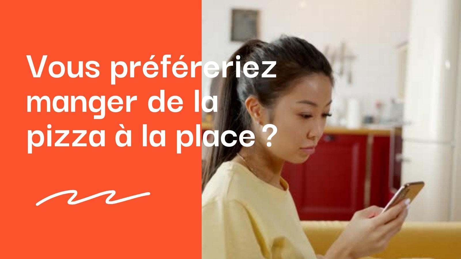 Orange et Blanc Nourriture Commerce/Restaurant 16/9 Vidéo