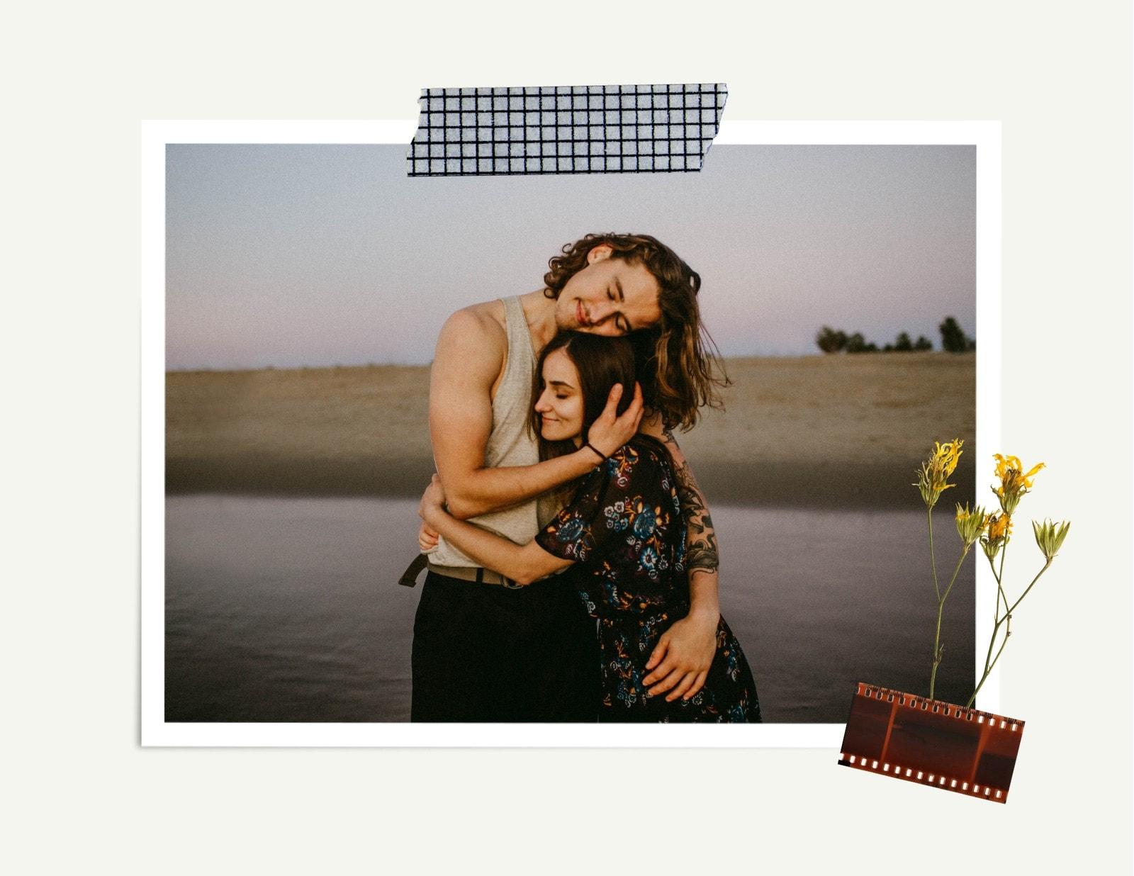 Álbum de Recortes Beis  Aniversario Libro de Fotos