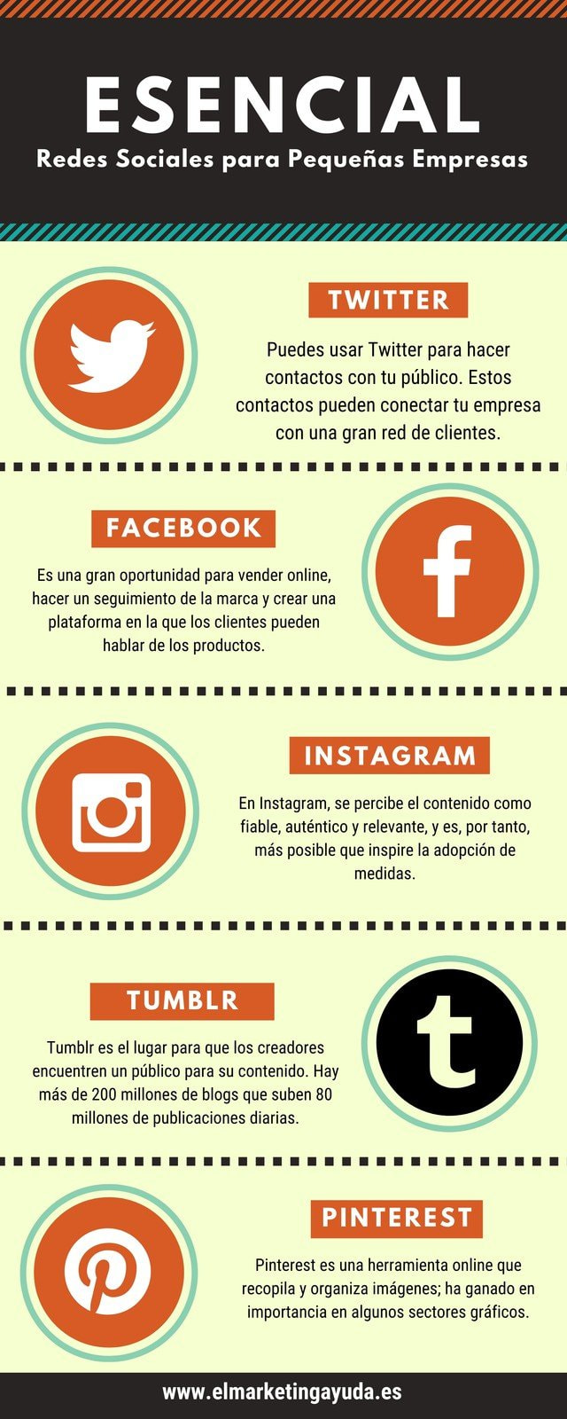 Negro Naranja Verde Redes Sociales Iconos Negocios Empresa Infografía