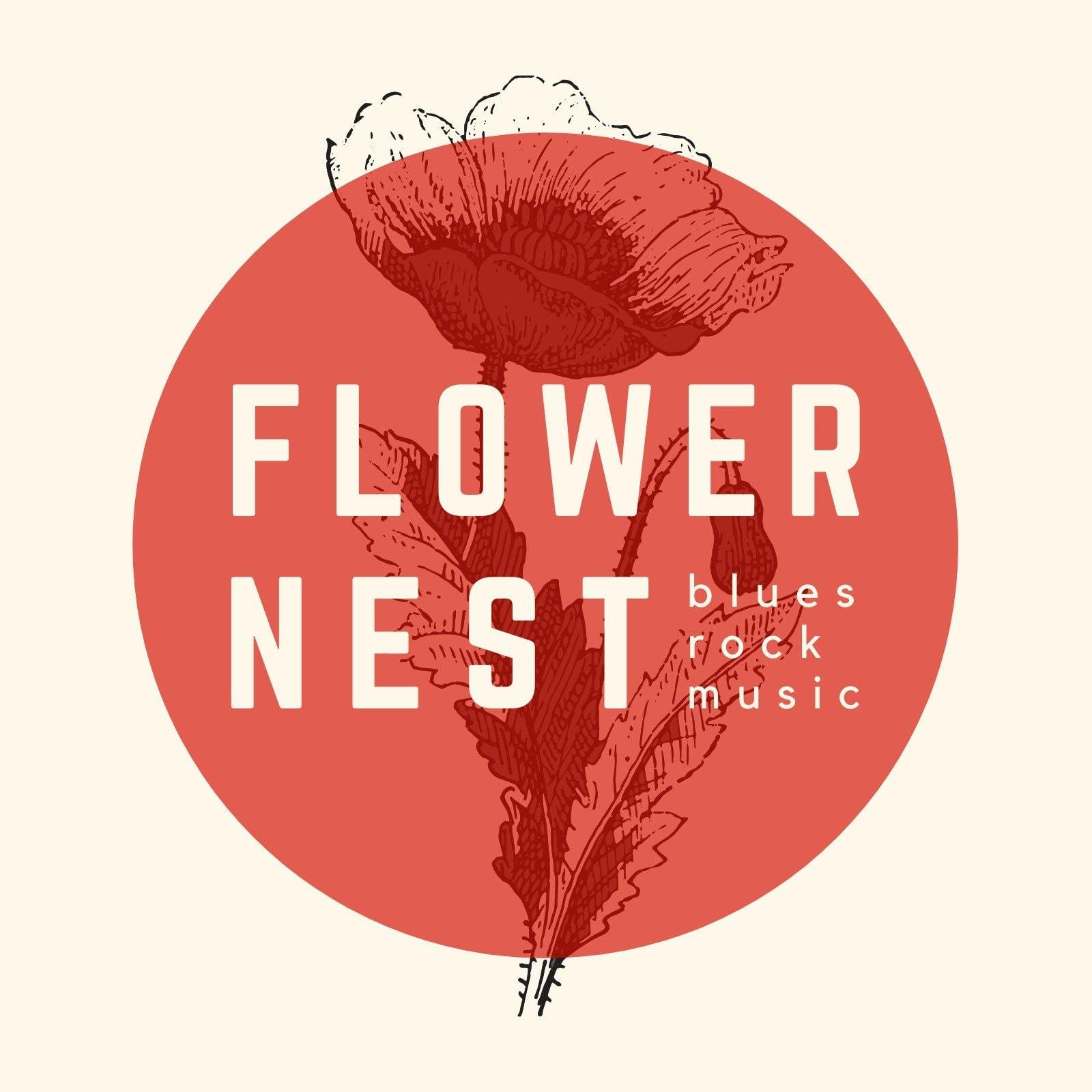 Floral Illustration CD Cover (Album Cover)