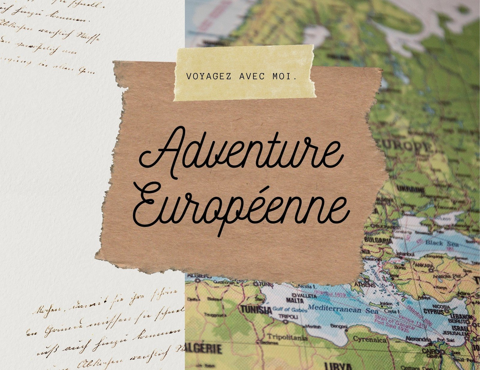 Marron Scrapbook Voyage Photo Livre