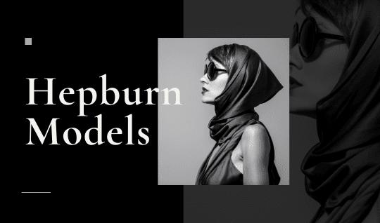 Tarjetas de presentación de moda