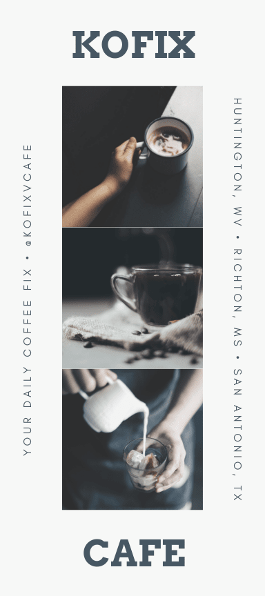 Plaquettes commerciales de café