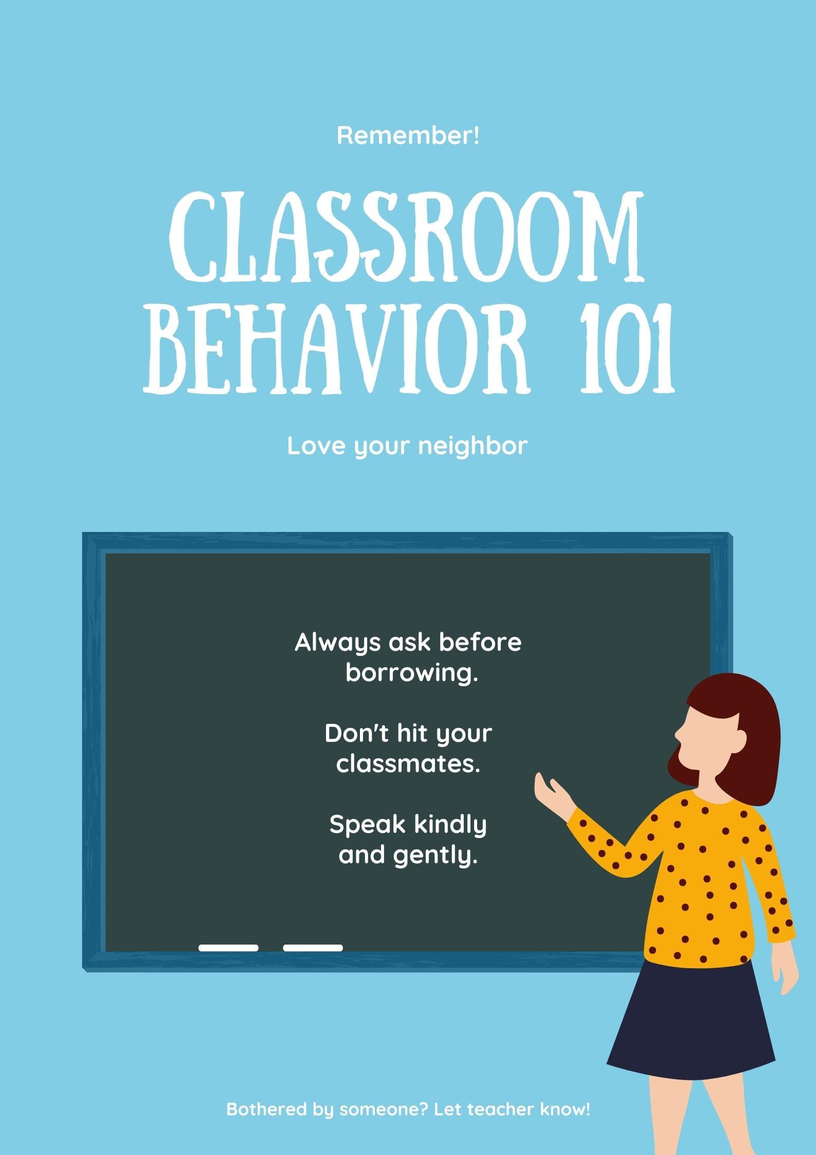 Poster Ruang Kelas