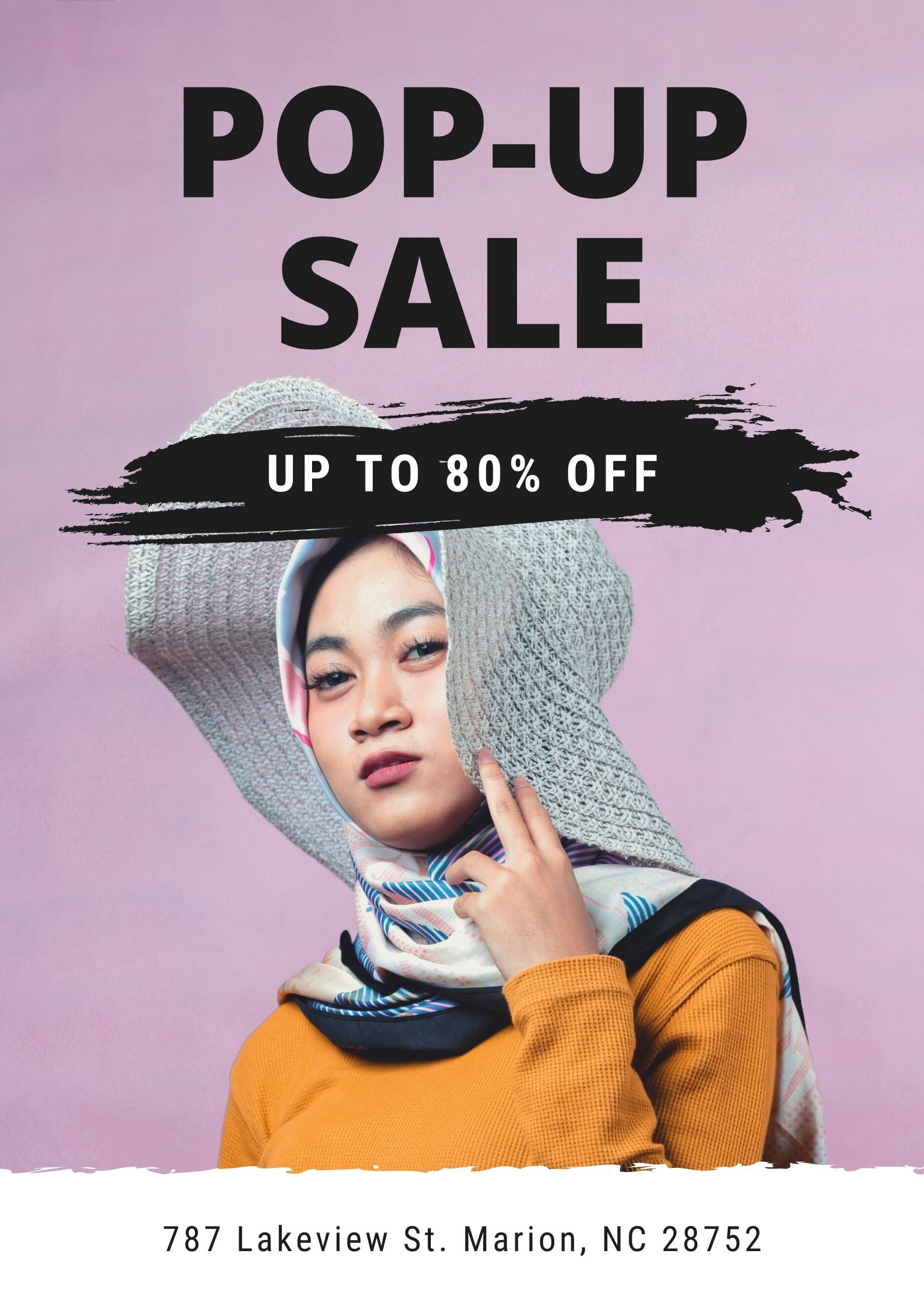 Poster per la vendita al dettaglio