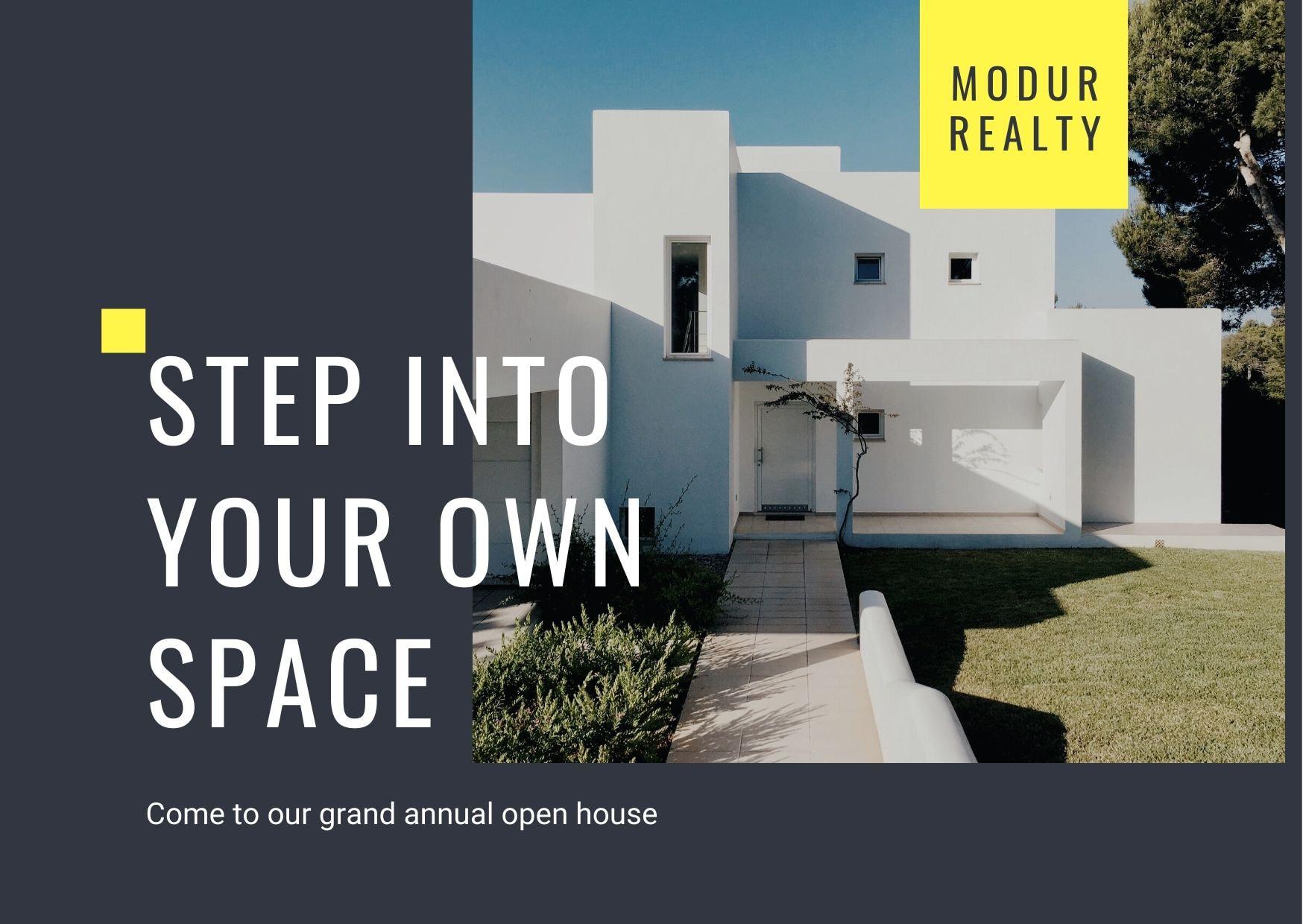Открытки для продажи недвижимости