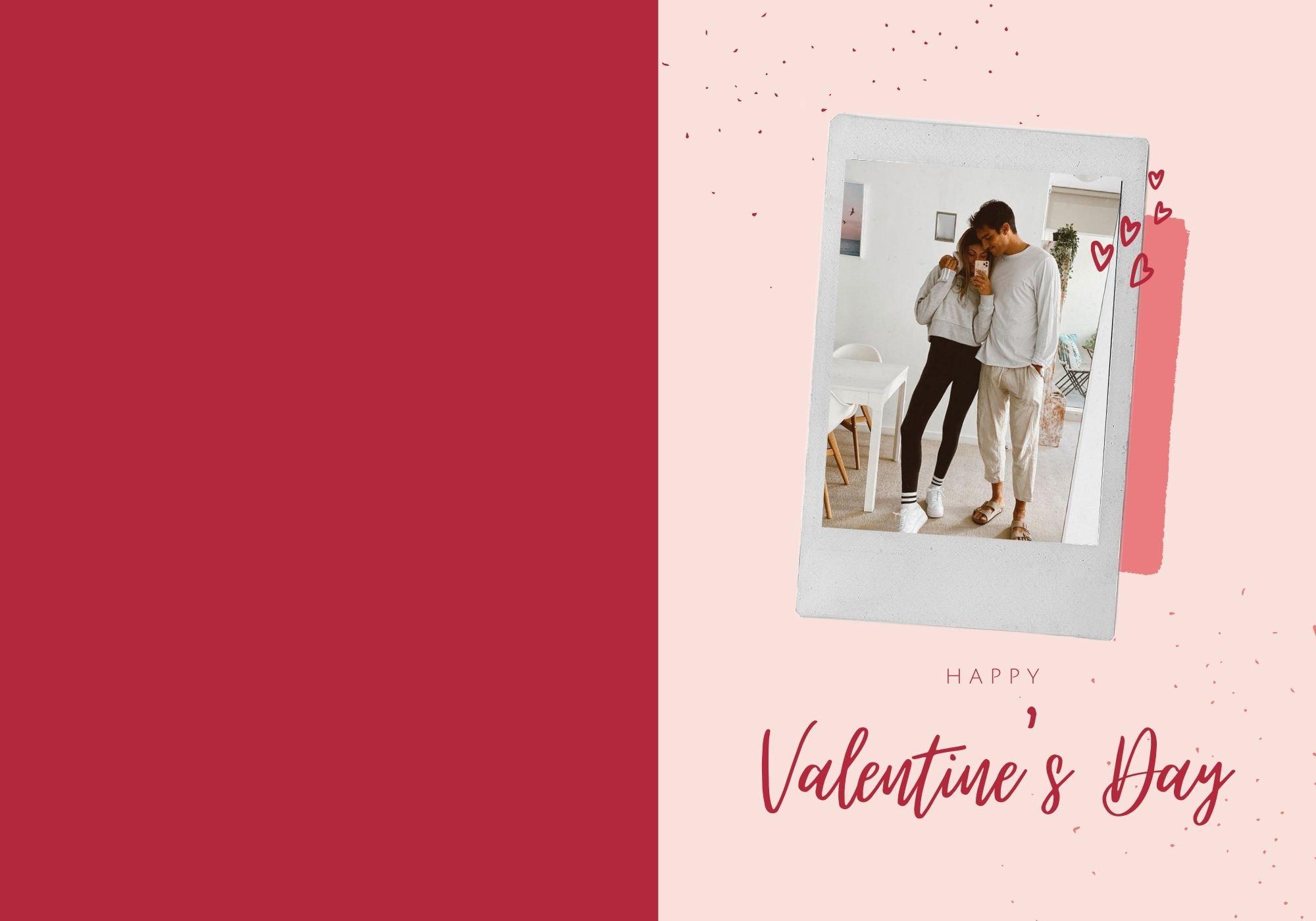 バレンタインデーのカード