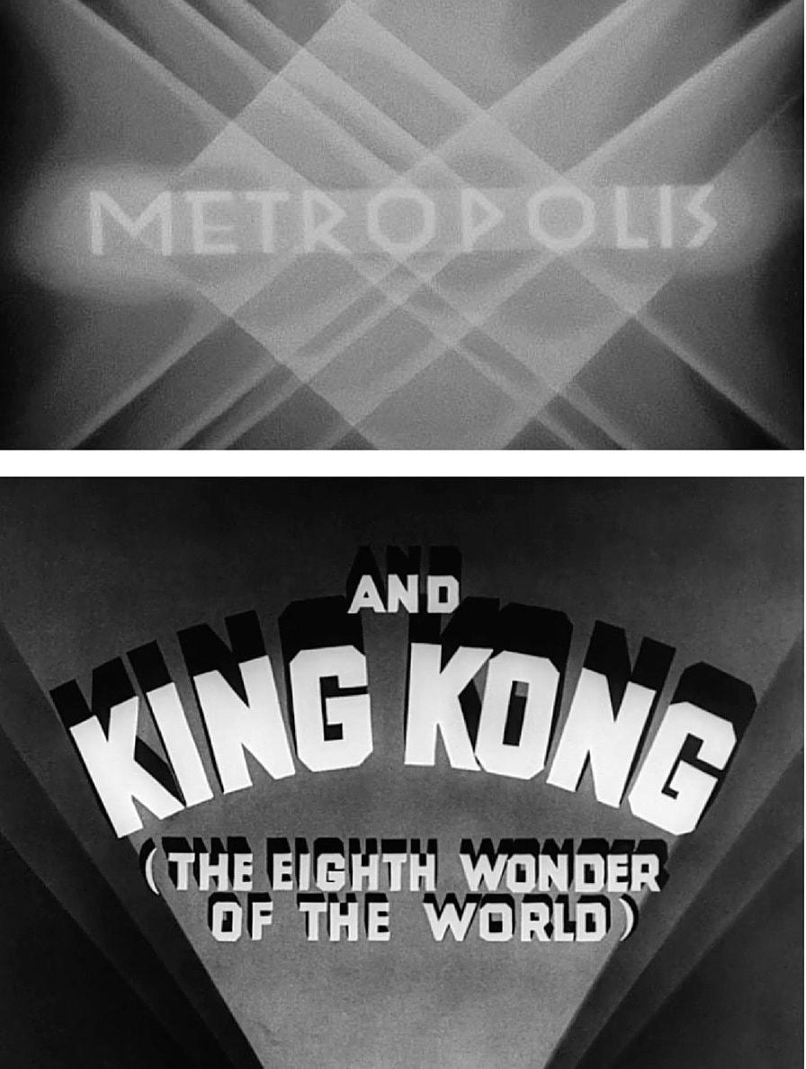 05. Metropolis 1927 and King Kong 1933