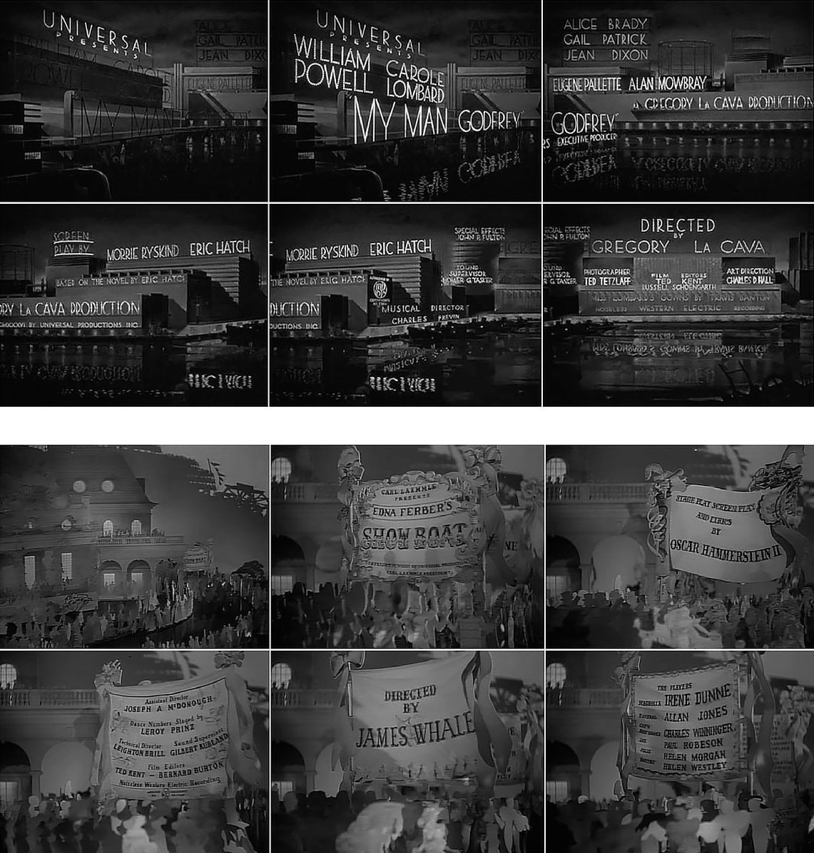 08. My Man Godfrey 1936 and Showboat 1936