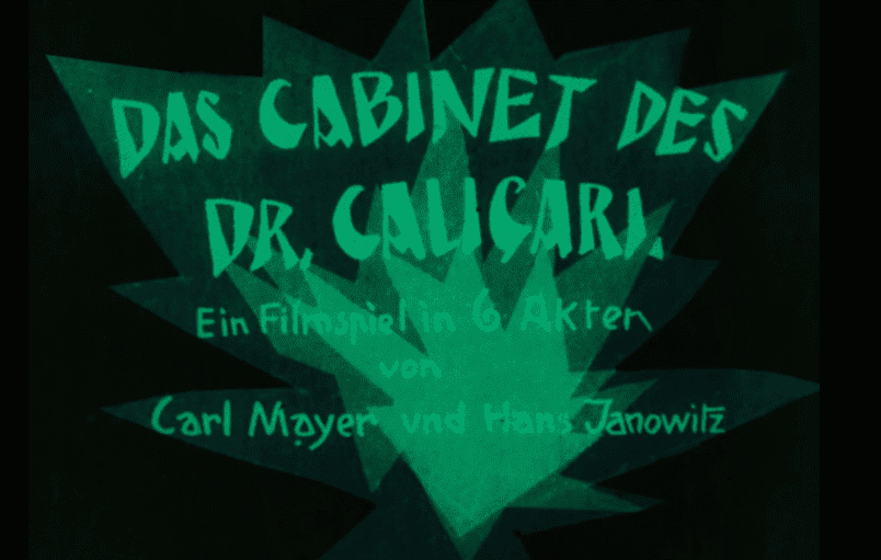 04. The Cabinet of Dr Caligari 1923