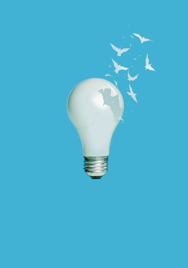 creative-procrastination-shattering-bulb