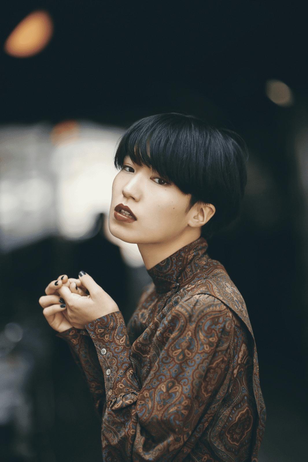 Asian woman emotion
