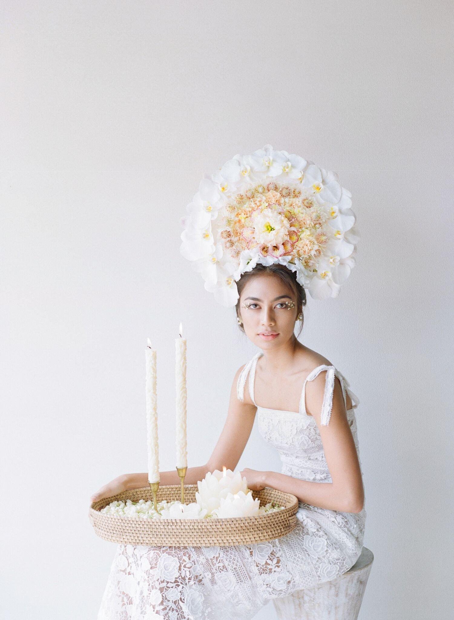 Bali Bride Bows + Arrows