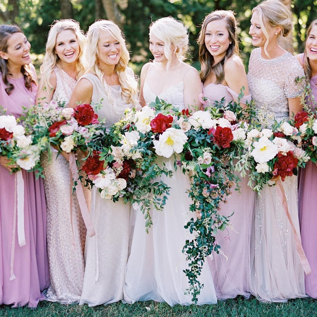 Garden Wedding Bows + Arrows