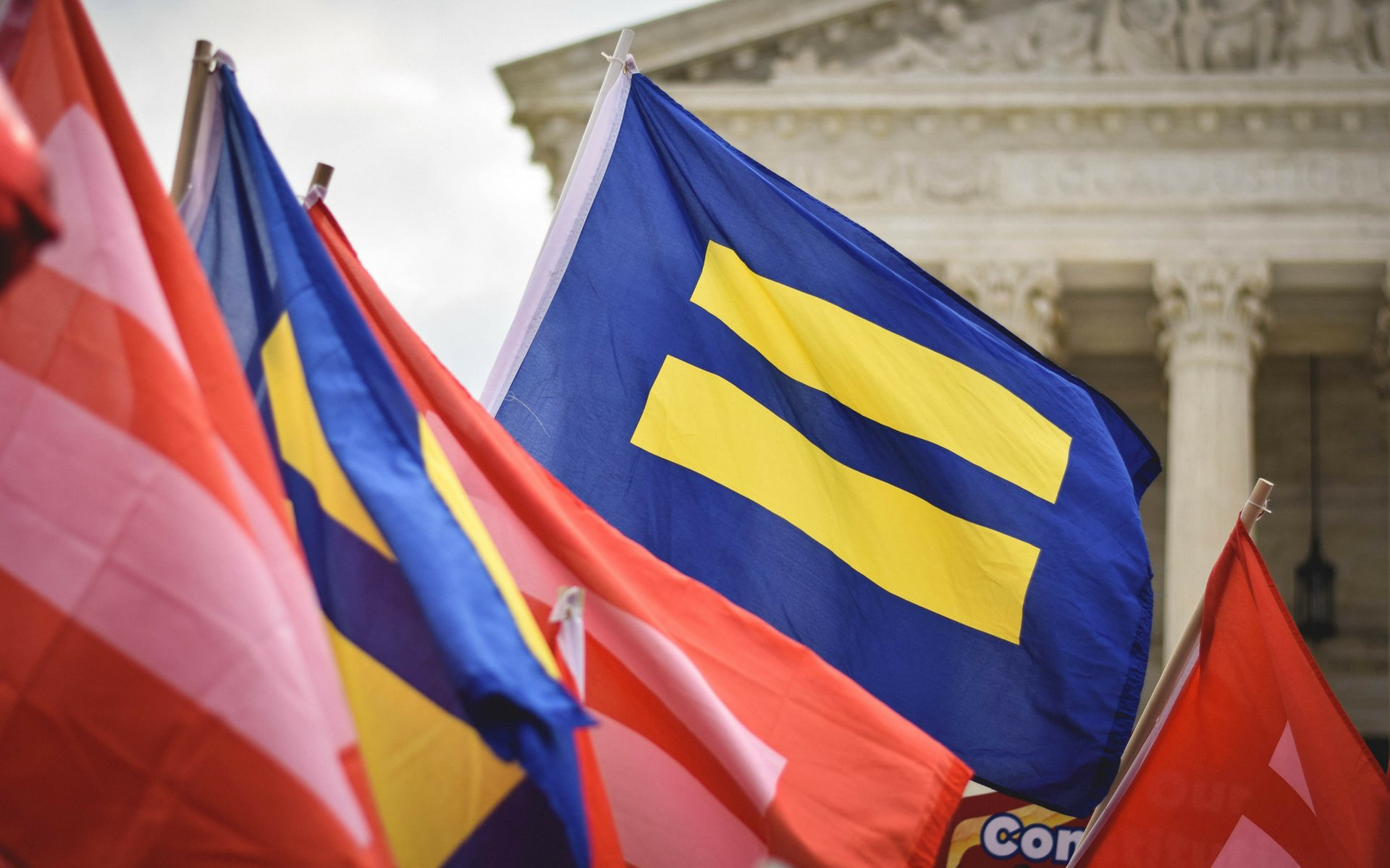 The story behind the HRC's viral equal sign logo