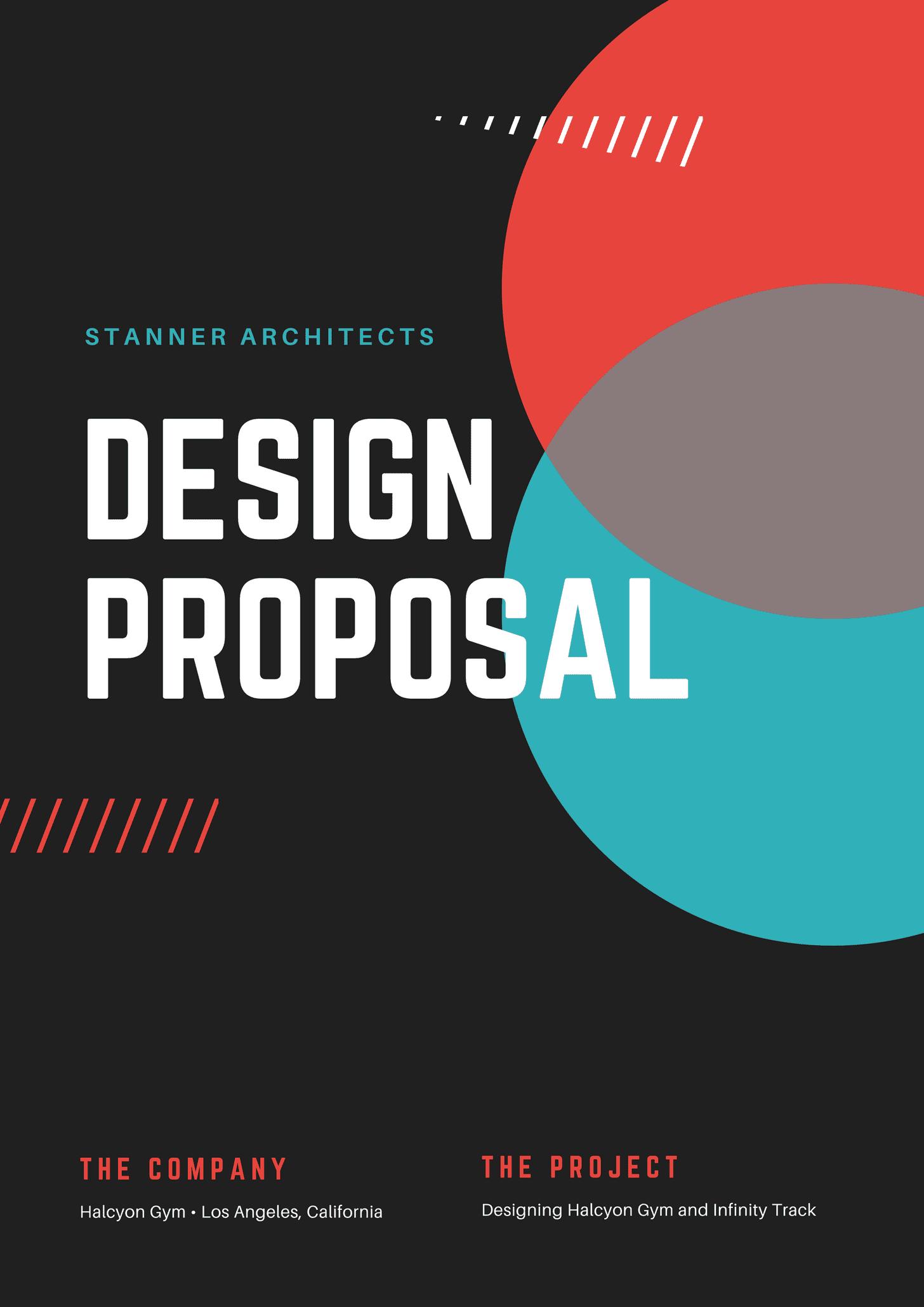 Blue Red Design Proposal