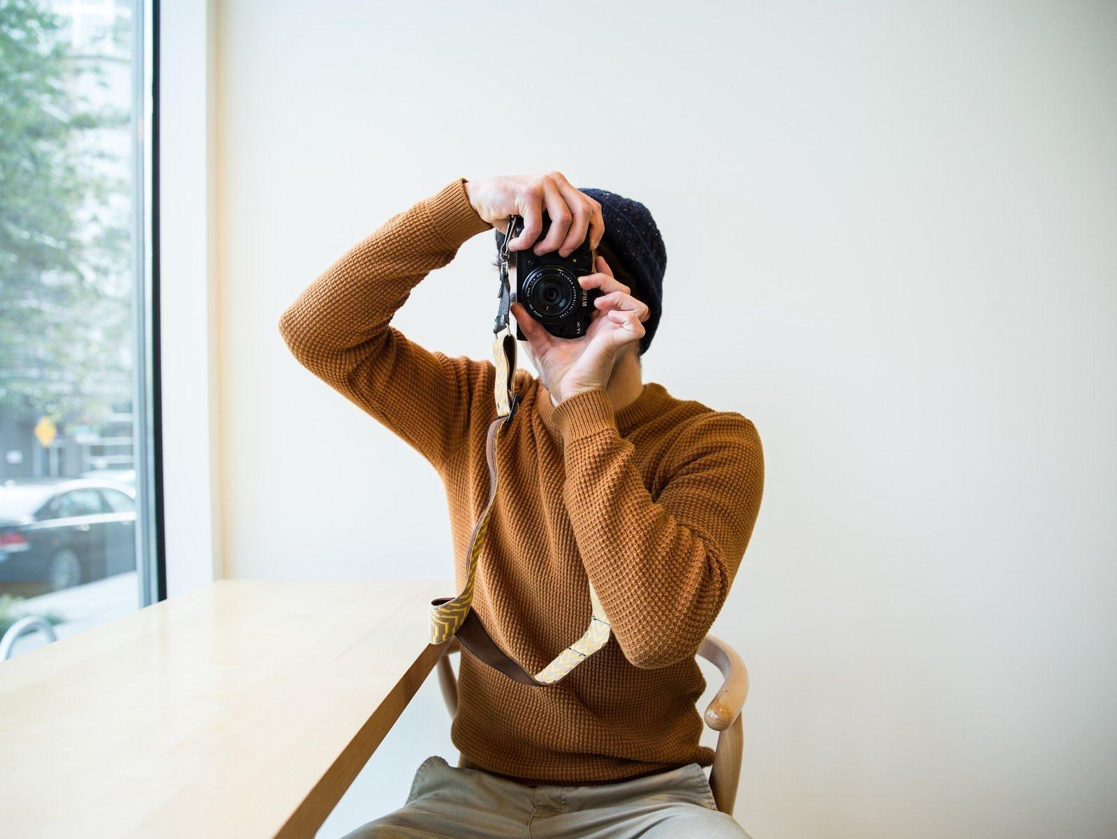 Photographer self portrait by Jeslyn Chanchaleune