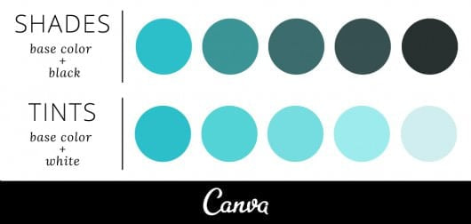 tints and shades example