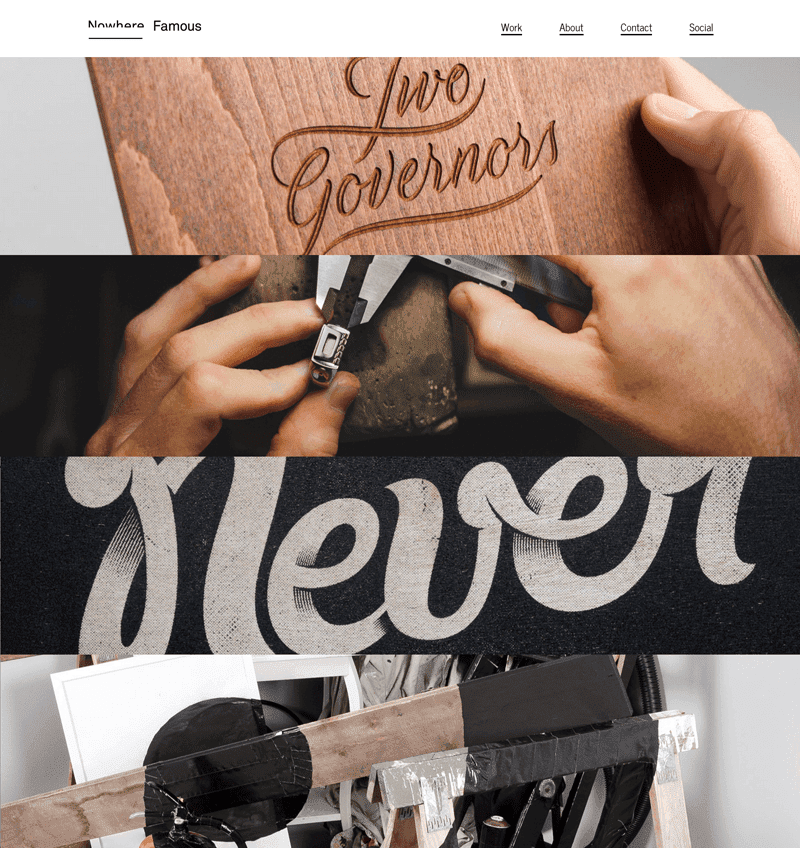 Nowhere Famous Agency / portfolio