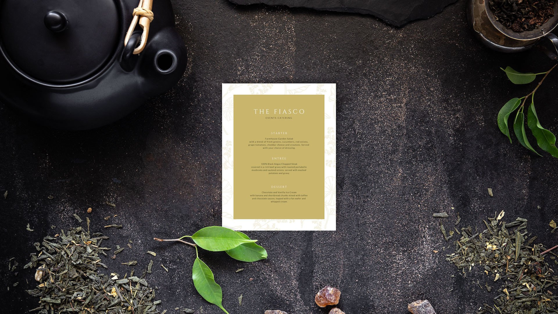 psychology menu design