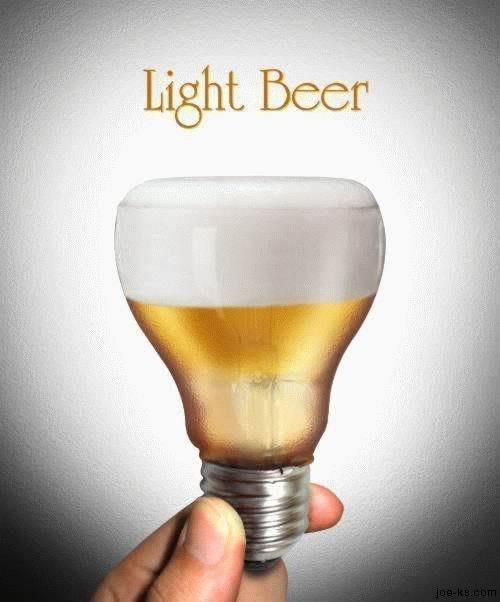 20. Light beer