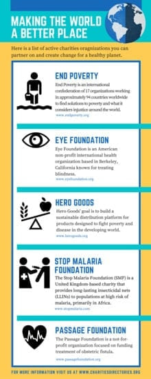 Making the World a Better Place Infographic