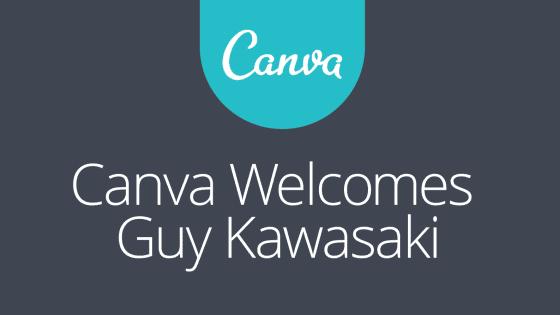 Guy Kawasaki Joins Canva