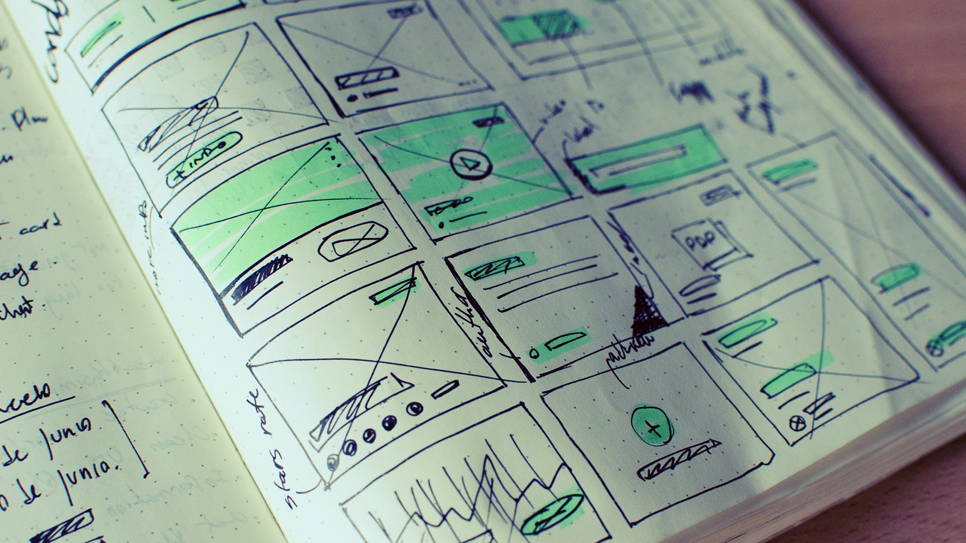 how to build a storyboard image header sketched thumbnails