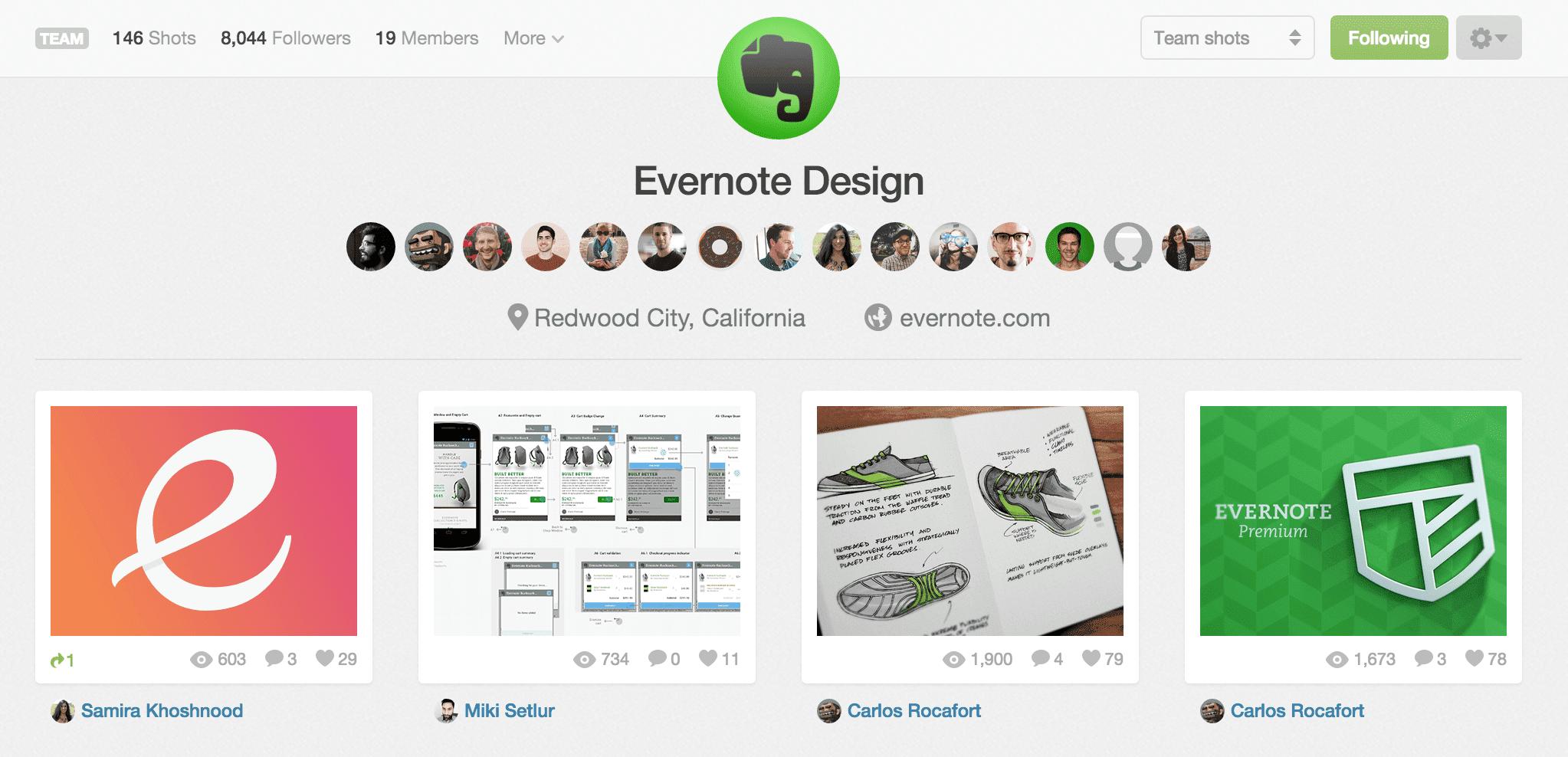 Dribbble_-_Evernote_Design