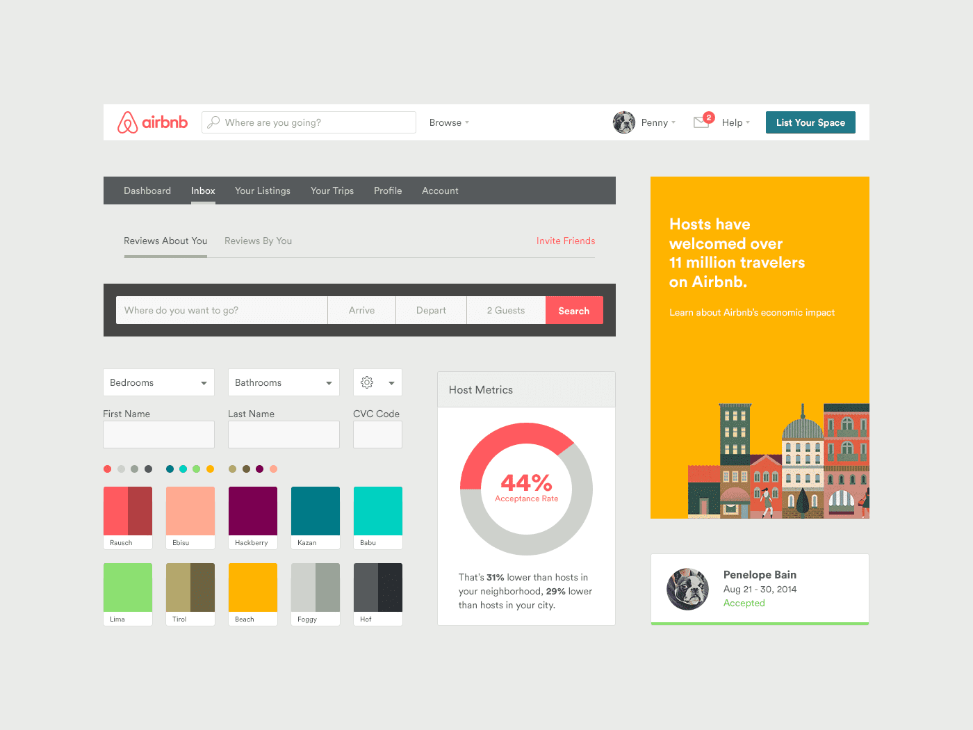 airbnb-web-toolkit