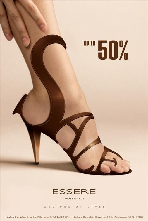 graphic design advertisement examples