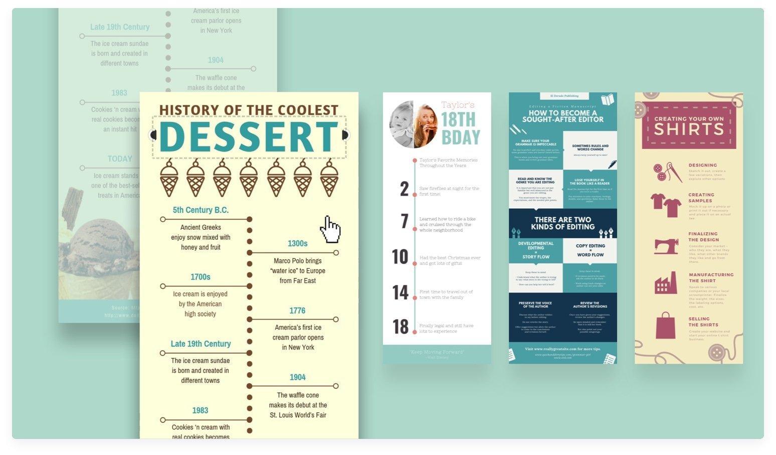membuat desain infografis, aplikasi infografis - Canva