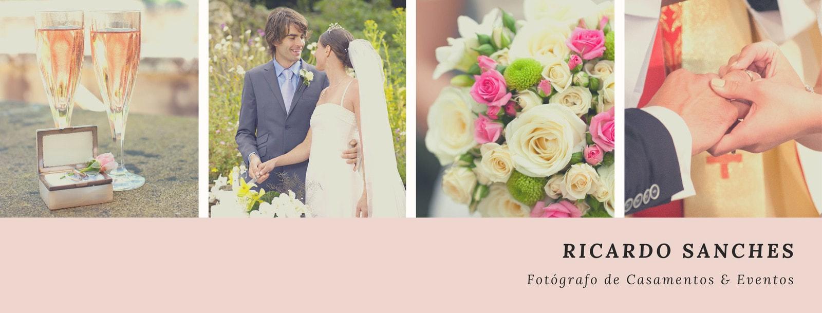 Rosa Casamento Molduras de Fotos Capa para Facebook