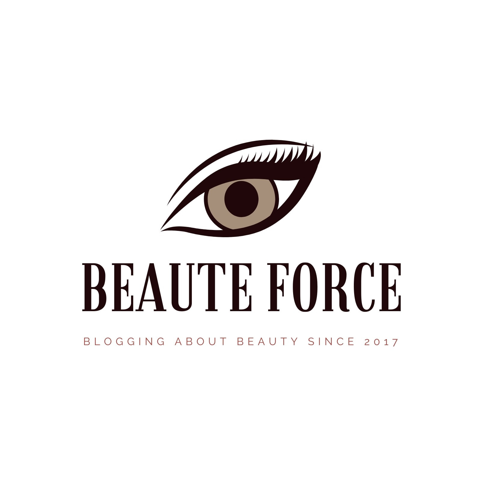 Brown Blogging About Beauty Logo