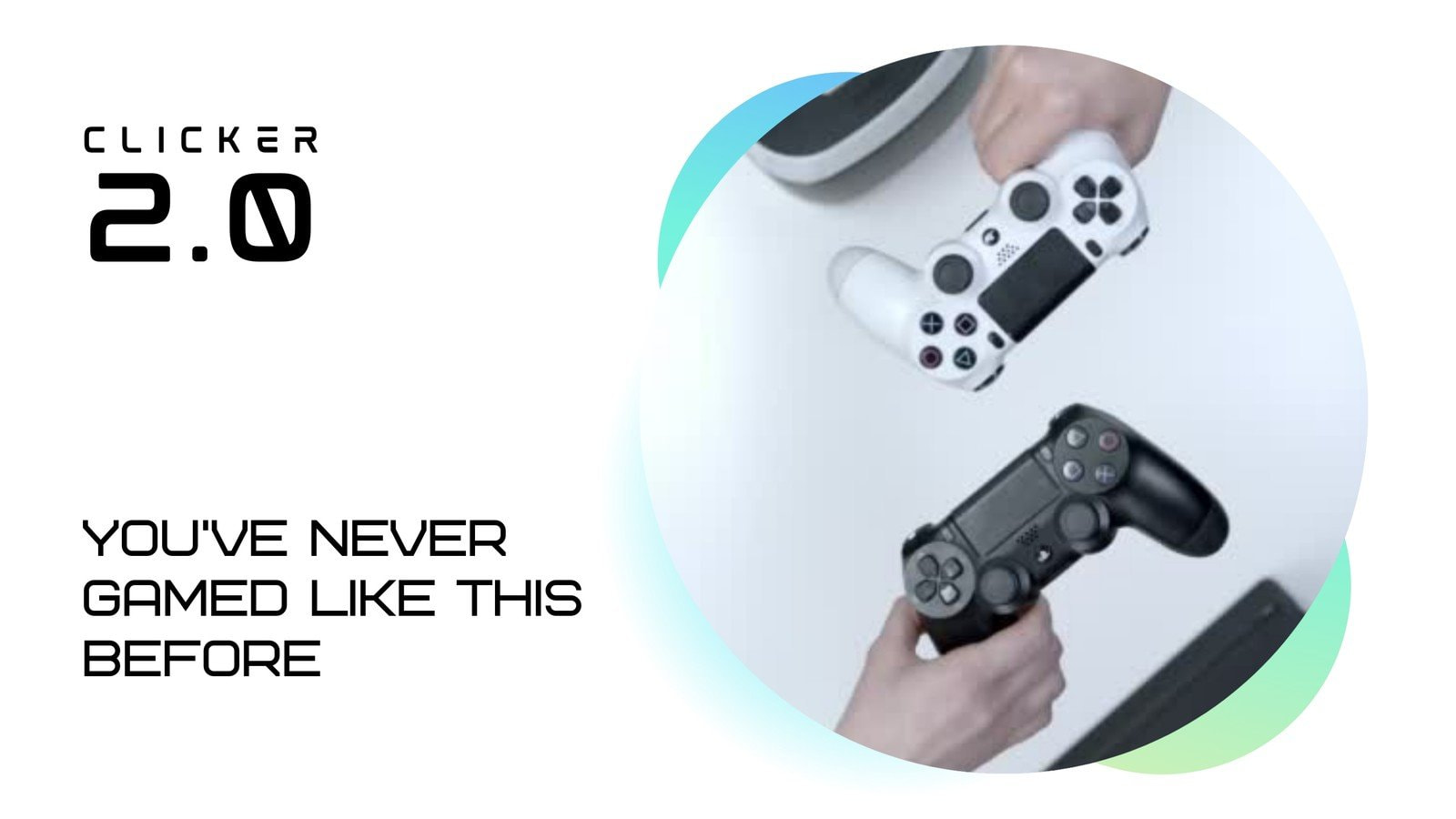 White and Blue Controller Gaming in-Stream Ad