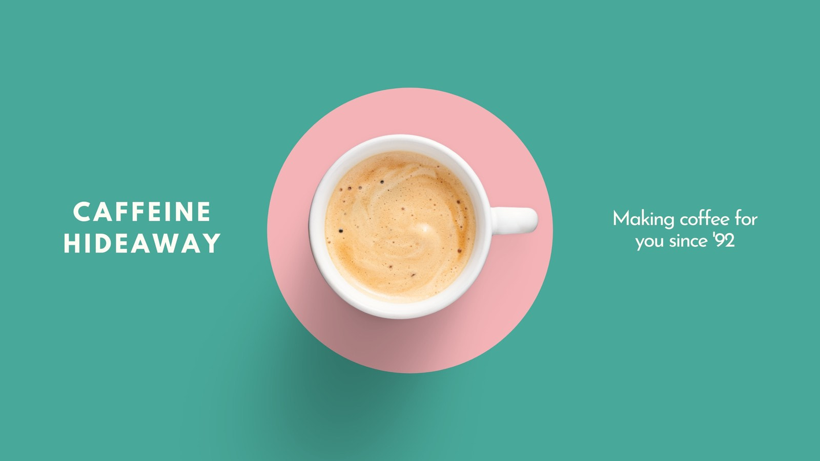 Green and Pink Coffee Shop Restaurant Delivery In-Stream Ad