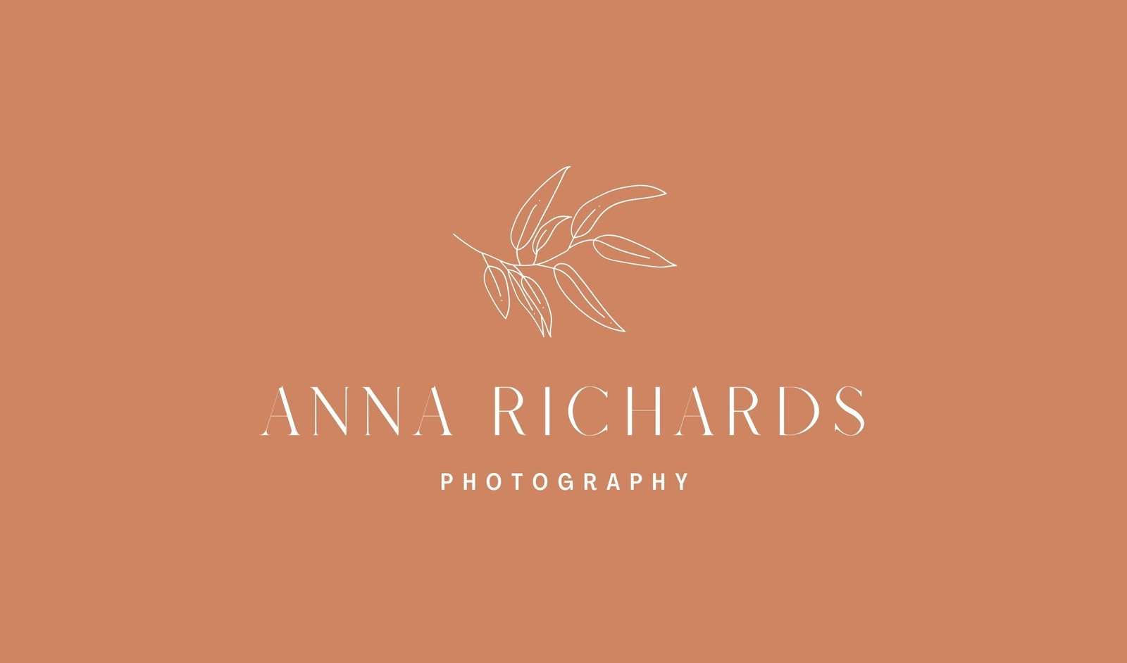 Aesthetic Chic Business Card Design