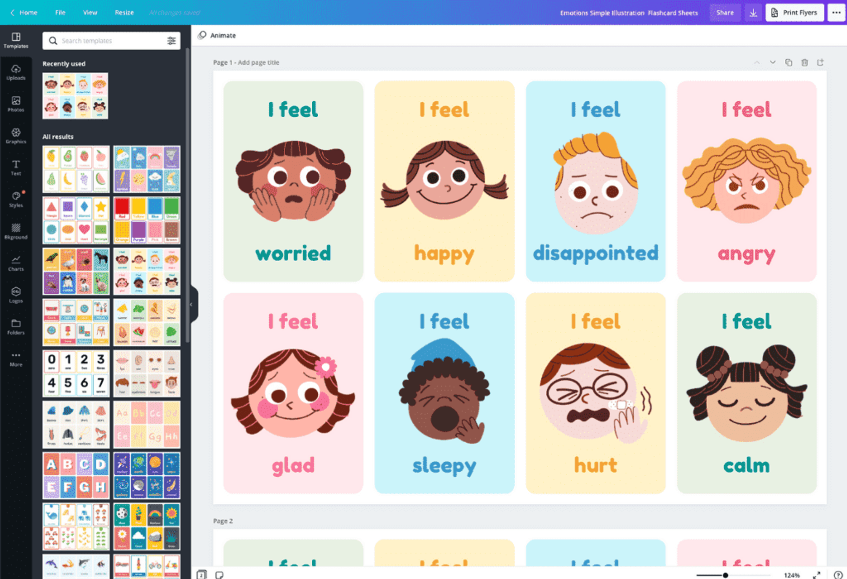 Free Online Flashcard Maker: Design Custom Flashcards - Canva Within 3 By 5 Index Card Template