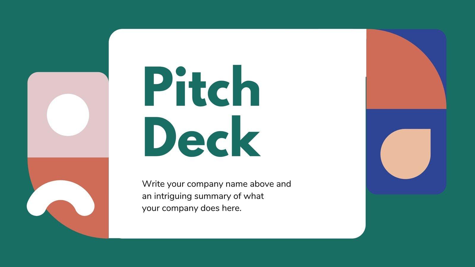Green Simple Education Pitch Deck Presentation